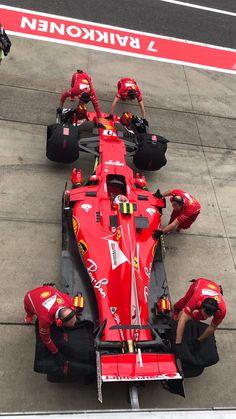 2017/10/6:Twitter: @sideway002: #FerrariFriday #JapaneseGP