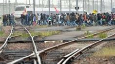 Image copyright                  AFP/Getty                  Image caption                     The strikes will disrupt travel ahead of the Euro 2016 football championships   French railway workers are to go on strike as unions continue to protest against planned labour reforms.  This is expected to further disrupt a transport network already suffering from a shortage of fuel. French President Francois Hollande has insisted he will not back down over the ref