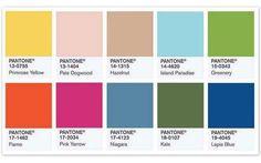 Pantone presenta los colores para el 2017