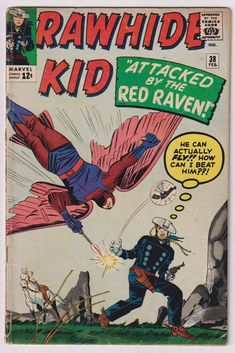 644 best Marvel Comic Books   TeamVintageUSA images on Pinterest Rawhide Kid  Vol 1  38  Silver Age Comic Book  VG