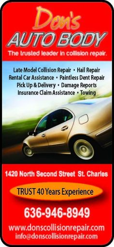 Dons auto body flyers business cards pinterest business cards colourmoves
