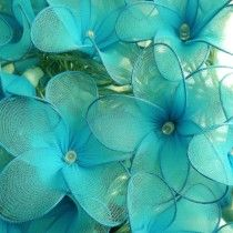 Turquoise Daisies Children's Fairy Lights - Available now on Becky & Lolo