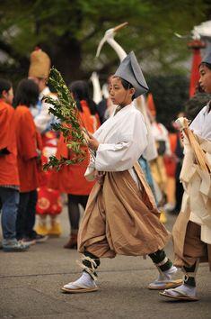 Shirasaginomai procession