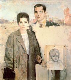 Emilio y Angelines. 1961-65. Obra de Antonio López García ,one of my favorite paintings of all times. AM