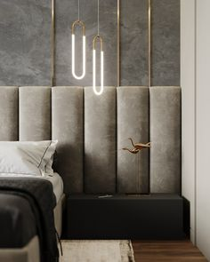 "Bedroom shades of gray"" on Behance Cheap Office Decor, Cheap Wall Decor, Cheap Home Decor, Home Decor Items, Luxury Homes Interior, Home Interior Design, Interior Paint, Interior Ideas, Home Decor Styles"