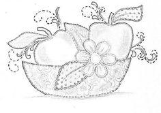 Resultado de imagem para como pintar legumes em tecido