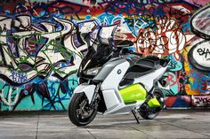 BMW C Evolution    Featured on ScooterFile.com