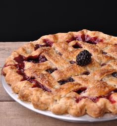 I could eat this Blackberry Pie from Livin' The Pie Life, every day.