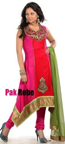 Red/Pink Party Dress Pakistani and indian Dresses in UK and USA. Pakistani wedding dresses and bridal dresses.Pakistani Designer Party Dresses, Sami Party Dresses, Wedding Speacial and Casual Dresses. Shop Party Dresses at: www.PakRobe.com Visit our online shoping store www.PakRobe.com