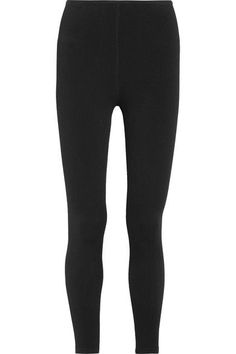 Alaïa - Stretch-knit Leggings - Black - FR
