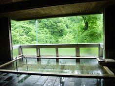 "Terme di ""Hukeikan""(Hotel), Yamada-Onsen(Terme) Takayama-mura Nagano Japan"