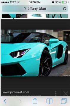 tiffany blue car on pinterest cars dream cars and lamborghini. Black Bedroom Furniture Sets. Home Design Ideas