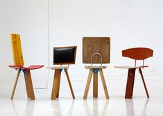 Salvaged materials form chairs in More Than This collection