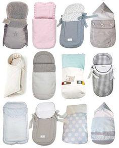 Tutorial que muestra el paso a paso para confeccionar un saco para capazo de cochecito de paseo de bebé. Más