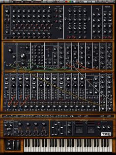 Moog synthesizers. Too many options?