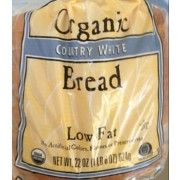 Trader Joe's Organic Country White Bread | Fooducate gives it a B+