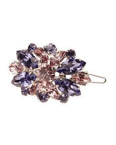 L. ERICKSON Countess Crystal Barrette w/Tige Boule Purple $160 (Compare Elsewhere $180) SHIPS FREE BEST PRICES YOU WILL FIND ANYWHERE ON GENUINE LADIES DESIGNER BRANDS! FREE WORLD SHIPPING & LOCAL DELIVERY AVAILABLE AT THE SURF CITY SHOP in Huntington Beach, California Major Credit Cards Accepted
