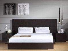 Modern Contemporary Japanese Platform Beds Japanese Style Contemporary Platform Bed, Modern Platform Bedroom Sets With Regard To Contemporary Platform, Choosing The Right One For You Japanese Platform Bed Modern, Hanging Lamps For Bedroom, Bedroom Lamps, Bedroom Furniture Sets, Bedroom Sets, Master Bedroom, Bedroom Black, Furniture Nyc, Quality Furniture, Bedrooms