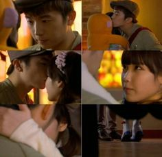 IU and Wooyoung on Dream High