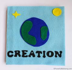 Creation: Light – no sewing book for toddlers - No Sew Fabric Crafts Toddler Bible Lessons, Toddler Books, Bible Quiet Book, Quiet Books, Jw Bible, Busy Book, Quiet Book Tutorial, Creation Bible, Bible Crafts