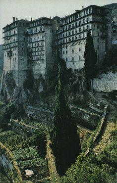 Ι.Μ. Σιμώνος Πέτρας, Άγ. Όρος - Simonopetra  Monastery, Mount Athos, Greece