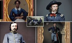 Some 150 years since Abraham Lincoln outlawed slavery in the US, graphic artist Frédéric Duriez has brought to life photos of these men with painstaking colorization.