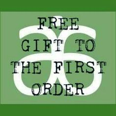 "Arbonne online demo ""free gift to first order"" that I made for my mystery host rewards party :)"