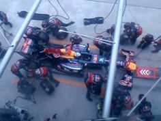 Sebastian Vettel - Four Second Pit Stop