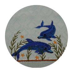 Toalha lavabo - Tema animais marinhos