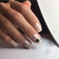 Summer time is the ideal time to experiment. There're some really intriguing tips! If you choose unusually common summer nails colors, then you require Oval Nails, Matte Nails, Acrylic Nails, Nail Manicure, Diy Nails, Nail Art Courses, Neutral Nail Art, Diy Nail Designs, Holiday Nails