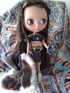 Blythe doll custom por Aullando a la LuNa by BlytheaLaLuNa on Etsy