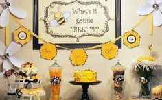 BabyZone: 15 Fun Ideas For Throwing A Gender Reveal Party   Gender Reveal Party Bee Theme