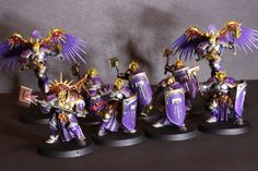 Warhammer: Age of Sigmar, Stormcast Eternals: purple and silver paint scheme