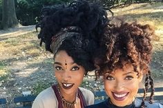Young, Wild, and Free - 25 Fierce Winter Hairstyles For Naturalistas