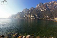 Lake Garda from Riva - Lago di Garda da Rivo di #Garda #Trentino Riva Del Garda, Italy Travel, Album, Italy Destinations, Card Book