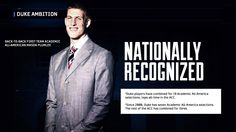 Congrats to Mason Plumlee! Coach K's 2nd back-to-back First Team Academic All-American.