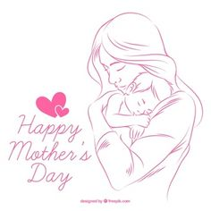 Hand Drawn Mothers Day Cute Love Greeting With Name.Print Name on Mothers Day Card.Happy Mothers Day Celebration Pics With Custom Name. Happy Mothers Day Banner, Mothers Day 2018, Happy Valentines Day Card, First Mothers Day, Happy Mother S Day, Mothers Love, Mother And Child, Love You Mum, Child Love