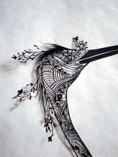 Paper cutting art. I am in the process of making this my own.