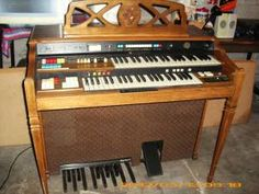 1984 50th Anniversary Hammond Organ