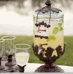 Baroque Beverage Server - Small