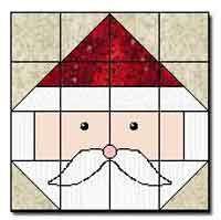 Santa Face Block