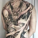 "1,972 Likes, 14 Comments - Proudly 🇨🇦 (@truong87) on Instagram: ""Fujin 👹 #vancouvertattoo #irezumicollective #finelinecollective #chronicink #vancouver #fujin…"""
