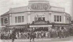 Opening of the Capitol cinema in 1926 St Georges School, The Ca, New Brighton, Saint George, Dance Hall, Liverpool, Places To Visit, Cinema, River