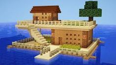 Image result for minecraft water houses