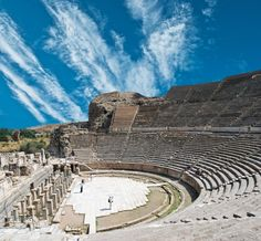 Grand Theater in Side, Turkey