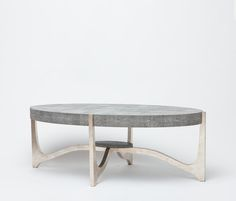 I know you like Shagreen - thought this new table from Made Goods was beautiful.  Accent Furniture   Made Goods