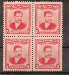PHILIPPINES Stamps -  MARCELO DEL PILAR