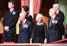 The ceremony brought together most members of the Royal, although inter-family relations h...
