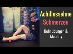 Übungen gegen Schmerzen in der Achillessehne/ Achillessehne Schmerzen - Faszientraining - YouTube