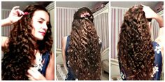 Bucle Fara Placa sau Ondulator - How to get Waves With Braids - Tutoriale Crix How To Get Waves, No Heat Waves, Red Manicure, Nail Tutorials, Hair And Nails, Braids, Dreadlocks, Hair Styles, Beauty